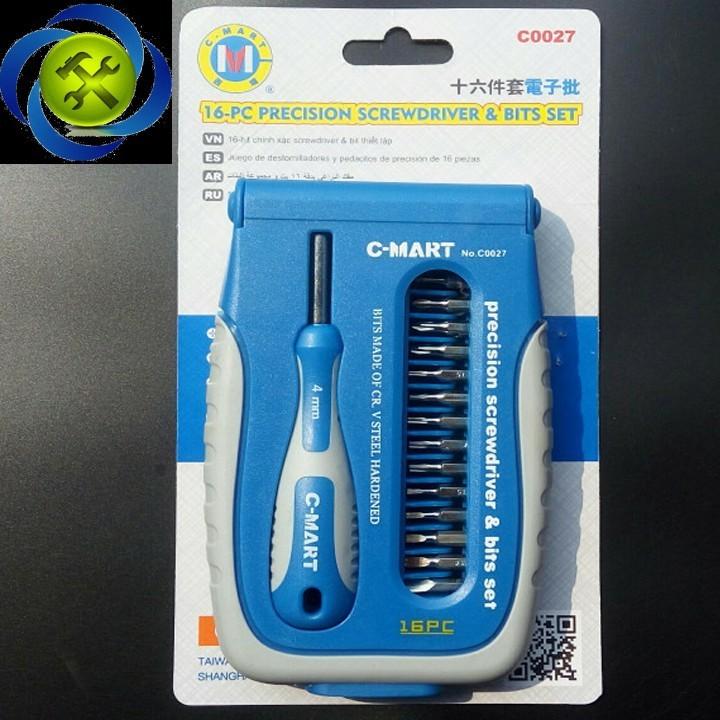 Bộ vít điện tử C-Mart C0027 1