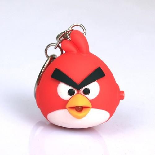 Móc Khóa Angry Birds Phát Sáng
