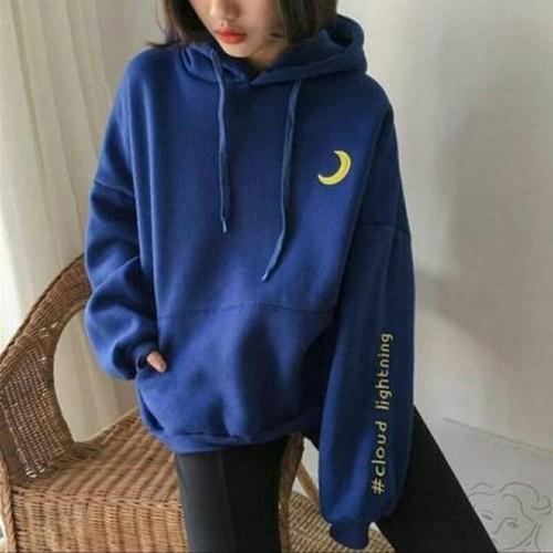 Áo hoodie nữ kiểu dáng thời trang - 6123525 , 12665590 , 15_12665590 , 95000 , Ao-hoodie-nu-kieu-dang-thoi-trang-15_12665590 , sendo.vn , Áo hoodie nữ kiểu dáng thời trang