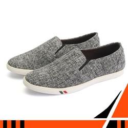 Giày lười nam TS216 giày lười nam vải shop giày lười nam