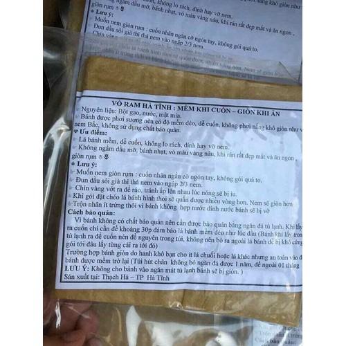 Bánh ram Hà Tĩnh combo 4 tệp