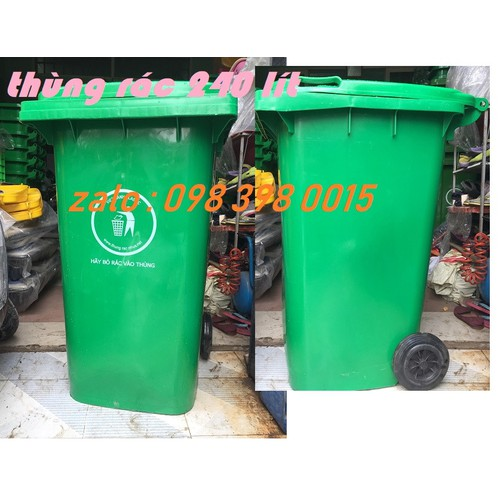 Thùng rác 240 lít - 6127517 , 12669699 , 15_12669699 , 730000 , Thung-rac-240-lit-15_12669699 , sendo.vn , Thùng rác 240 lít