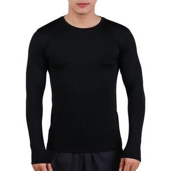 Áo Body Tập Gym Nam Tay Dài Unique Apparel ABTDD - Đen