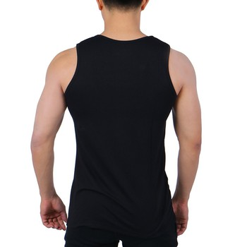 Áo Thun Tập Gym Nam Ba Lỗ Unique Apparel ATBLD - Đen