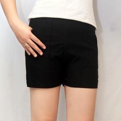 quần short kaki nữ siêu giản phối kéo thời trang hàn quốc