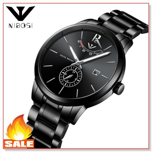 [Cho xem hàng ] đồng hồ nam thời trang  day thép đúc doanh nhân cao cấp