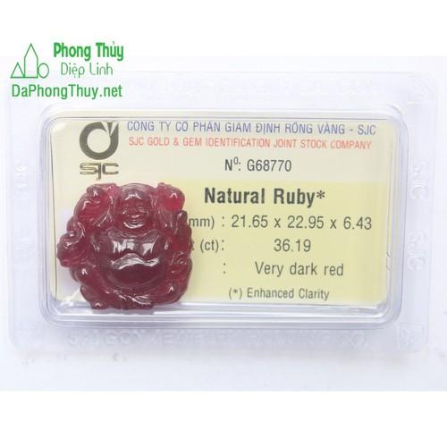 Phật Di Lạc Ruby