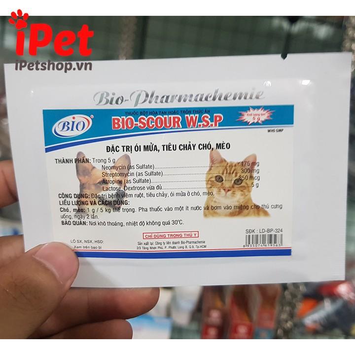 Thuốc Bột Đặc Trị Ói Mửa, Tiêu Chảy Cho Chó Mèo Bio-Scour 5g 2
