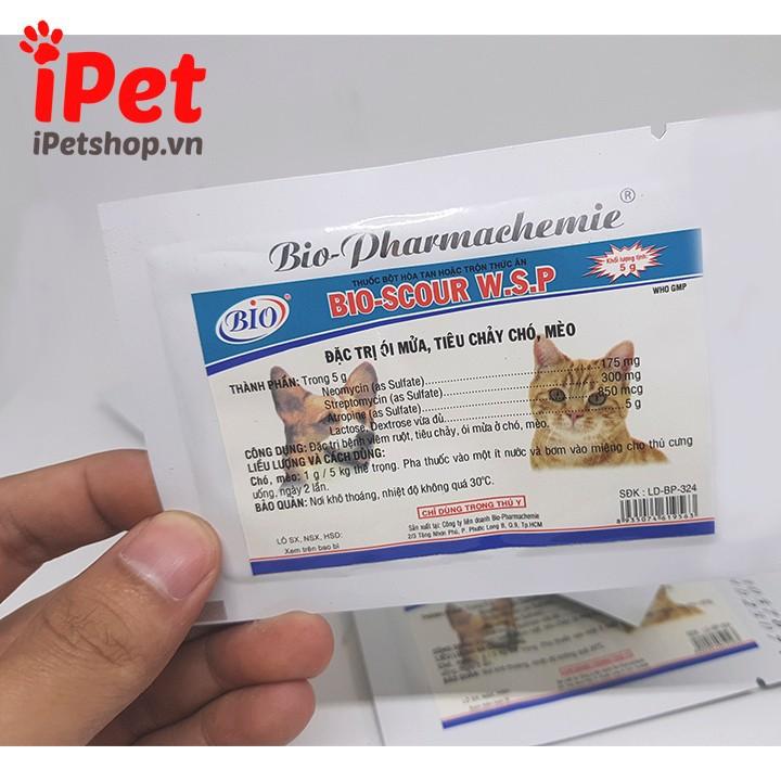 Thuốc Bột Đặc Trị Ói Mửa, Tiêu Chảy Cho Chó Mèo Bio-Scour 5g 3