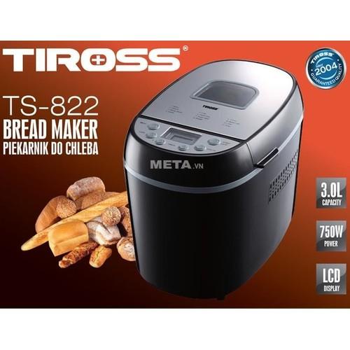 Máy làm bánh mỳ Tiross TS822 chính hãng