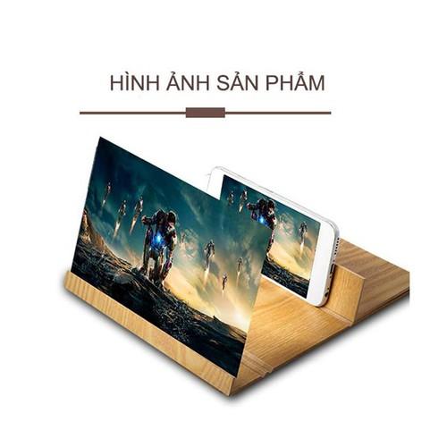 Kính phóng đại màn hình 3D khung gỗ | phóng đại camera