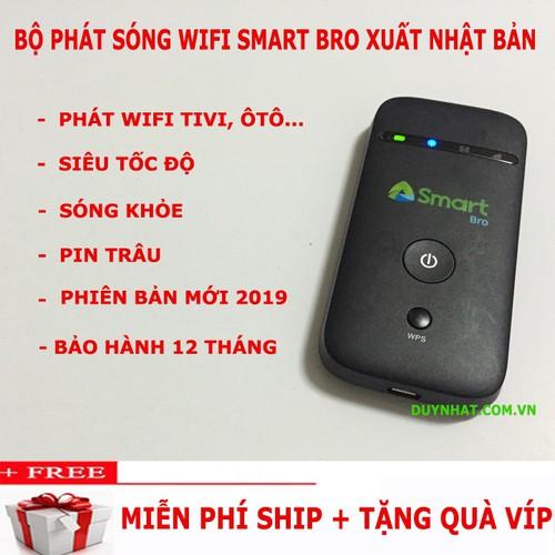 Modem Phát Wifi Đa Mạng Smart Bro, Tốc Độ Cao, Pin Khỏe
