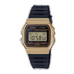 Đồng hồ nam dây nhựa Casio F-91WM-9ADF đen