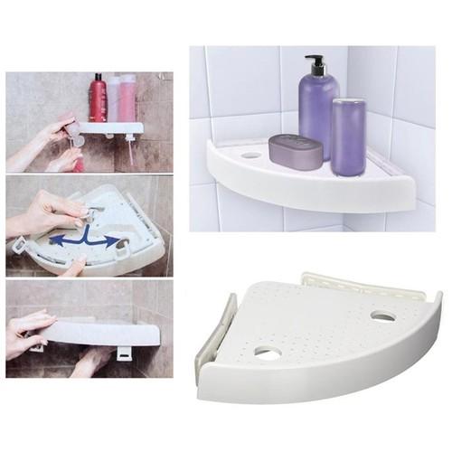 Kệ góc dùng cho nhà tắm - Sử dụng công nghệ cố định lực đẩy áp suất