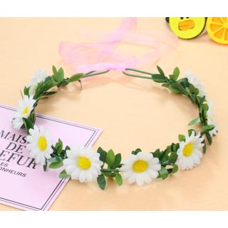 Vòng hoa đội đầu vòng hoa kỷ yếu vòng hoa cúc - VH47 thumbnail