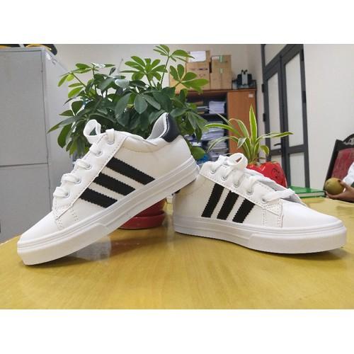 giày thể thao trắng 3 vạch - 6144863 , 12691825 , 15_12691825 , 99000 , giay-the-thao-trang-3-vach-15_12691825 , sendo.vn , giày thể thao trắng 3 vạch