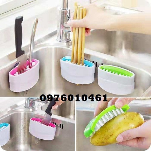 dụng cụ vệ sinh thông minh-bàn chải cọ đa năng-cước trùi nhà bếp