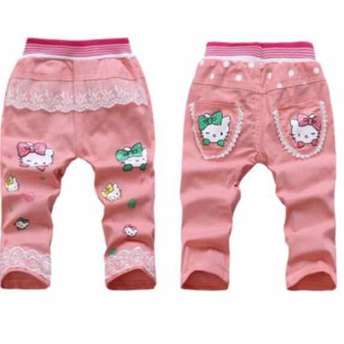 quần kaki mềm bé gái 2 đến 7  tuổi