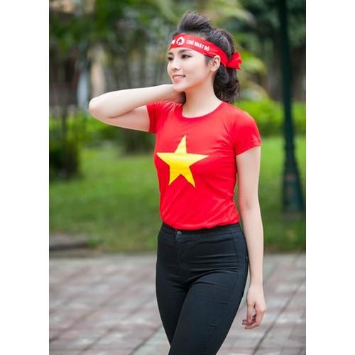 Áo cờ đỏ sa0 vàng - Sắc  áo Việt Nam