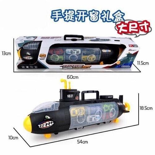 Bộ đồ chơi tàu ngầm cá mập chở 6 ô tô - 6155405 , 12704304 , 15_12704304 , 170000 , Bo-do-choi-tau-ngam-ca-map-cho-6-o-to-15_12704304 , sendo.vn , Bộ đồ chơi tàu ngầm cá mập chở 6 ô tô