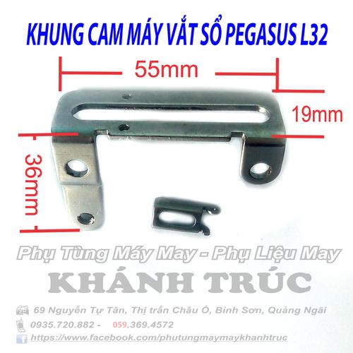 Khung cam máy vắt sổ PEGASUS L32 máy may công nghiệp - 6149747 , 12697162 , 15_12697162 , 45000 , Khung-cam-may-vat-so-PEGASUS-L32-may-may-cong-nghiep-15_12697162 , sendo.vn , Khung cam máy vắt sổ PEGASUS L32 máy may công nghiệp