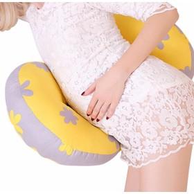Gối kê bụng bầu dạng nơ nằm êm ái cho mẹ bầu - Gối kê bụng bầu-HG01051