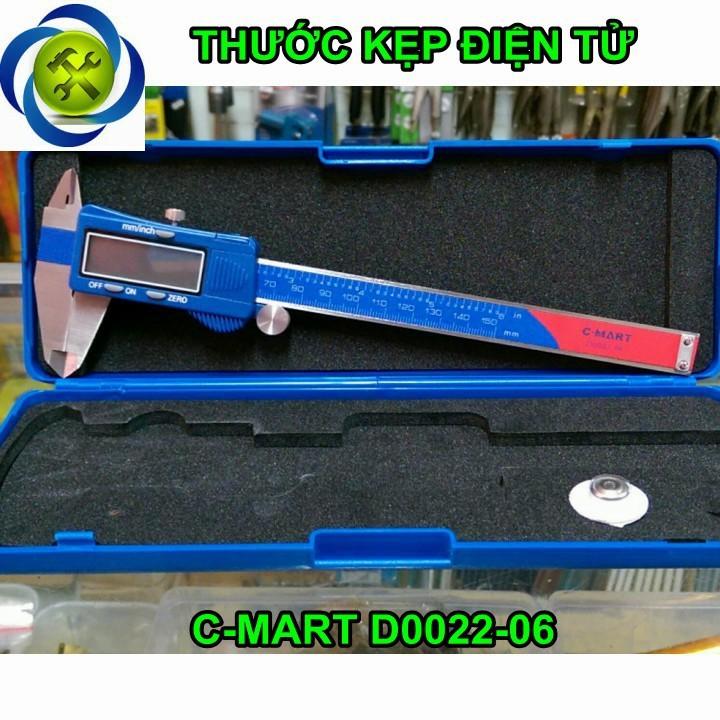 Thước kẹp điện tử C-Mart D0022-06 150mm 1