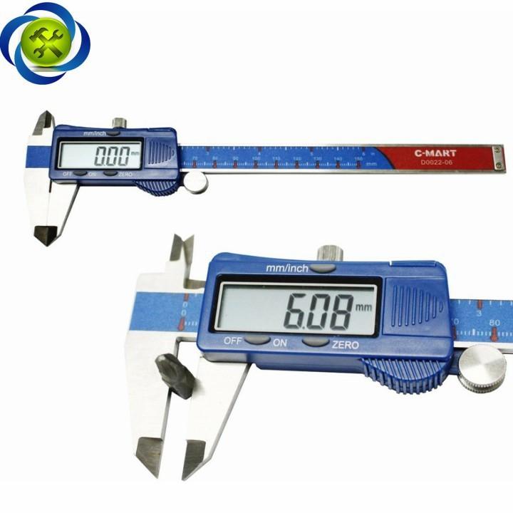 Thước kẹp điện tử C-Mart D0022-06 150mm 4