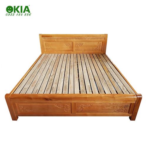 Giường ngủ gỗ sồi GN29