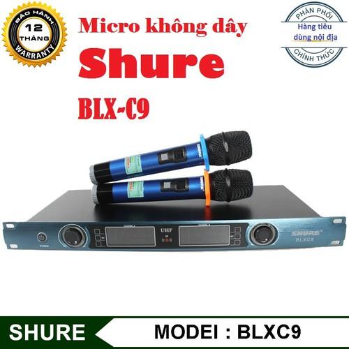 Micro không dây Shu.re blxc9-mic karaoke cao cấp