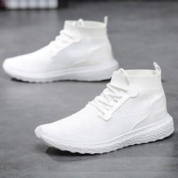 Giày sneaker - Thể thao nam cổ cao phong cách Hàn Quốc