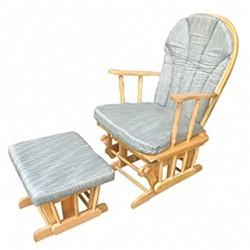Ghế thư giãn bằng gỗ màu tự nhiên bộ 2 cái - XK565W