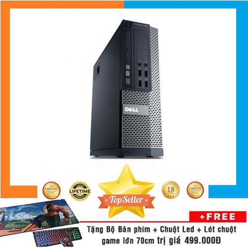 PC DELL OPTIPLEX 990 SFF,i7 2600,R 8GB,HDD2TB,RỜI 2GB