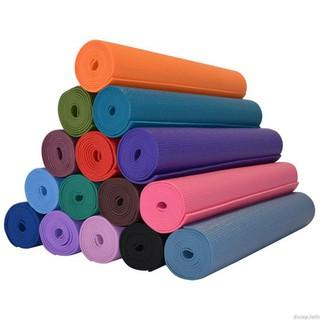 Thảm Tập Yoga Cao Cấp Dày 5li, 1.3kg giao màu ngẫu nhiên - 0162 thumbnail