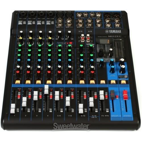 Mixer Yamaha MG12XU - 6163989 , 12714590 , 15_12714590 , 8090000 , Mixer-Yamaha-MG12XU-15_12714590 , sendo.vn , Mixer Yamaha MG12XU