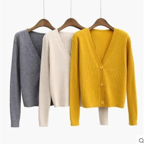 Áo khoác len nữ đủ màu ak8265  được kiểm tra hàng trước khi nhận