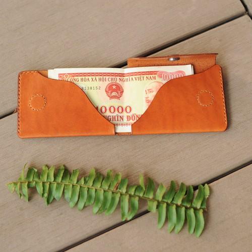 ví mini thiết kế tối giản - Đồ da handmade - Mino Crafts VI311