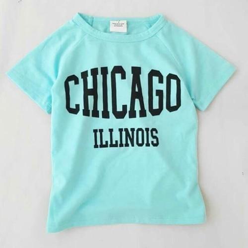 Áo thun in chứ CHICAGO