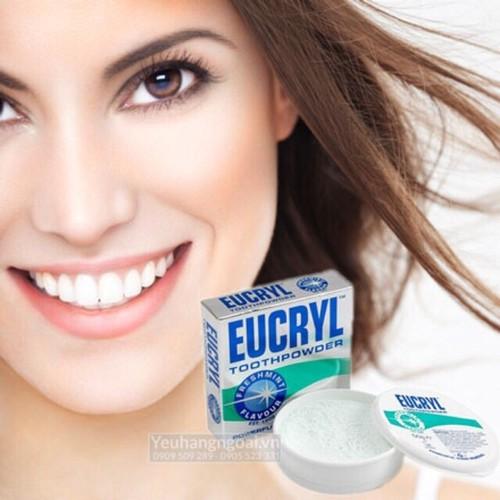 Bột làm trắng răng Eucryl Toothpowder - Anh