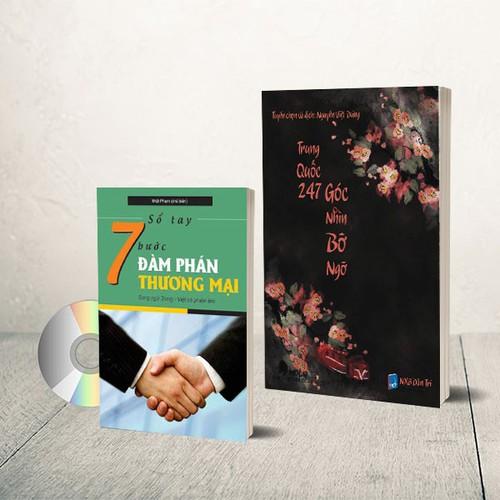 Combo 2 sách: Góc nhìn + 7 bước đàm phán thương mại + DVD quà tặng - 6161647 , 12711661 , 15_12711661 , 199000 , Combo-2-sach-Goc-nhin-7-buoc-dam-phan-thuong-mai-DVD-qua-tang-15_12711661 , sendo.vn , Combo 2 sách: Góc nhìn + 7 bước đàm phán thương mại + DVD quà tặng
