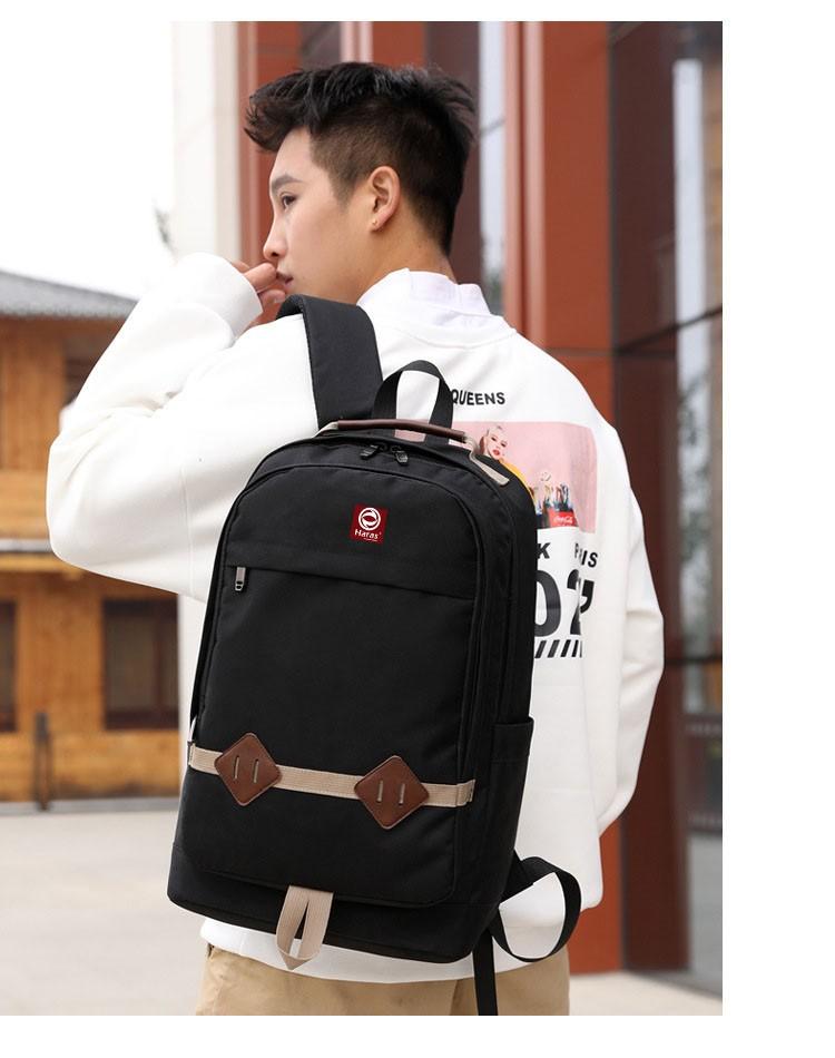 Combo balo thời trang HARAS HR233 Và túi đeo chéo cá tính HARAS HR203 12