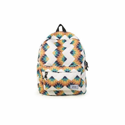 Balo thời trang đi học  - JOMB CLASSIC THỔ CẨM VÀNG TRẮNG