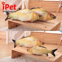 Cá Nhồi Bông Catnip Hình Cá Chép - Loại Nhỏ