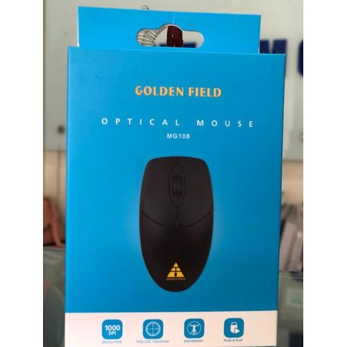 Chuột có dây Golden Field MG108 - Bảo hành đổi mới trong 12 tháng - 10900448 , 12726816 , 15_12726816 , 75000 , Chuot-co-day-Golden-Field-MG108-Bao-hanh-doi-moi-trong-12-thang-15_12726816 , sendo.vn , Chuột có dây Golden Field MG108 - Bảo hành đổi mới trong 12 tháng