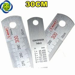 Thước lá C-Mart D0019-300 300mm