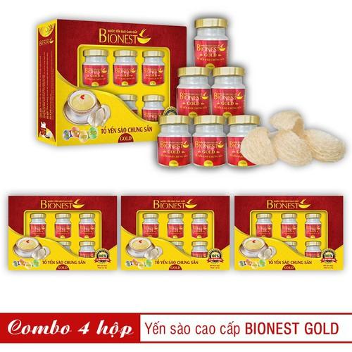 Bộ 4 hộp Yến sào Bionest Gold cao cấp - hộp quà tặng 6 lọ - 6171357 , 12723571 , 15_12723571 , 1036000 , Bo-4-hop-Yen-sao-Bionest-Gold-cao-cap-hop-qua-tang-6-lo-15_12723571 , sendo.vn , Bộ 4 hộp Yến sào Bionest Gold cao cấp - hộp quà tặng 6 lọ