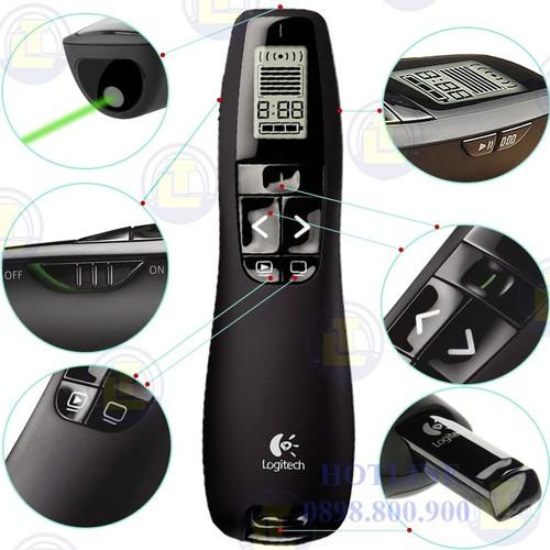 Bút thuyết trình Wireless Presenter R800