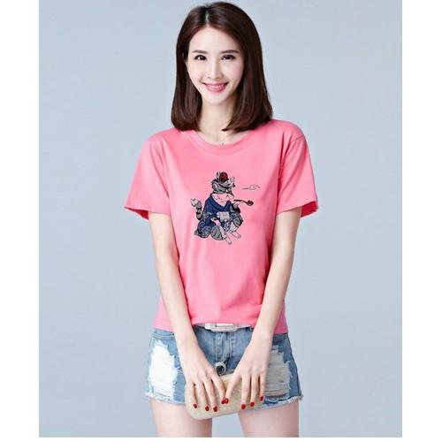 Áo thun nữ phong cách Hàn Quốc đơn giản ATNK1130 | thời trang Fantom