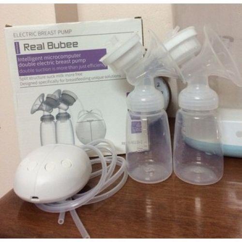 Máy hút sữa Real Bubee ,Có chế độ massage  kích sữa Hút cực êm ái