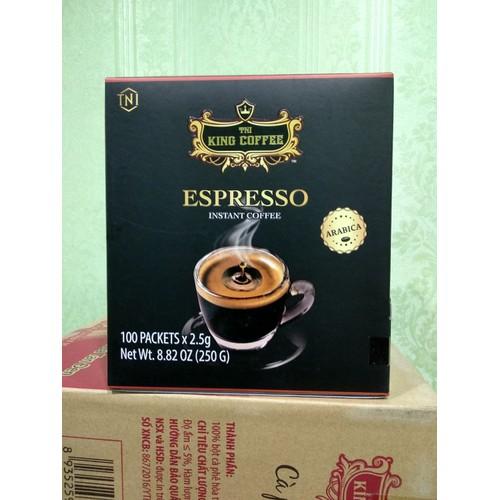 HN - Cà phê hòa tan Espresso Instant King Coffee hộp 100 gói - 10901228 , 12753214 , 15_12753214 , 286000 , HN-Ca-phe-hoa-tan-Espresso-Instant-King-Coffee-hop-100-goi-15_12753214 , sendo.vn , HN - Cà phê hòa tan Espresso Instant King Coffee hộp 100 gói